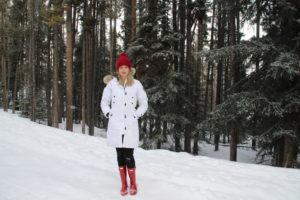 Winter in Banff, Alberta   Harper's Hats Love