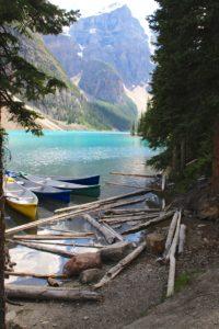 canoe lake moraine