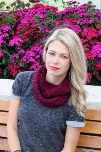double wrap cowl scarf
