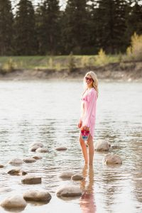 Pink summer style with Joe Fresh lemlem capsule collection