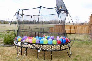 Springfree Trampoline Surprise!