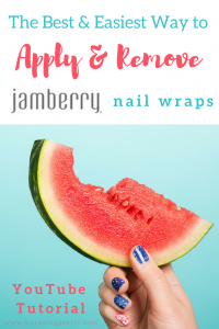 How to Apply and Remove Jamberry Nails : YoutTube Tutorial