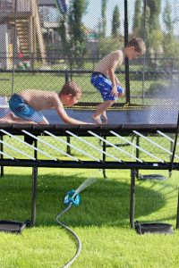 10 awesome ideas for your trampoline