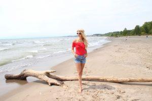 Beach vibes - mermaid hair - Headbands of Hope - hair extensions - Summer Outfit idea