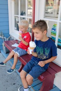Broderick's Ice Cream in Port Stanley, Ontario - family fun travel