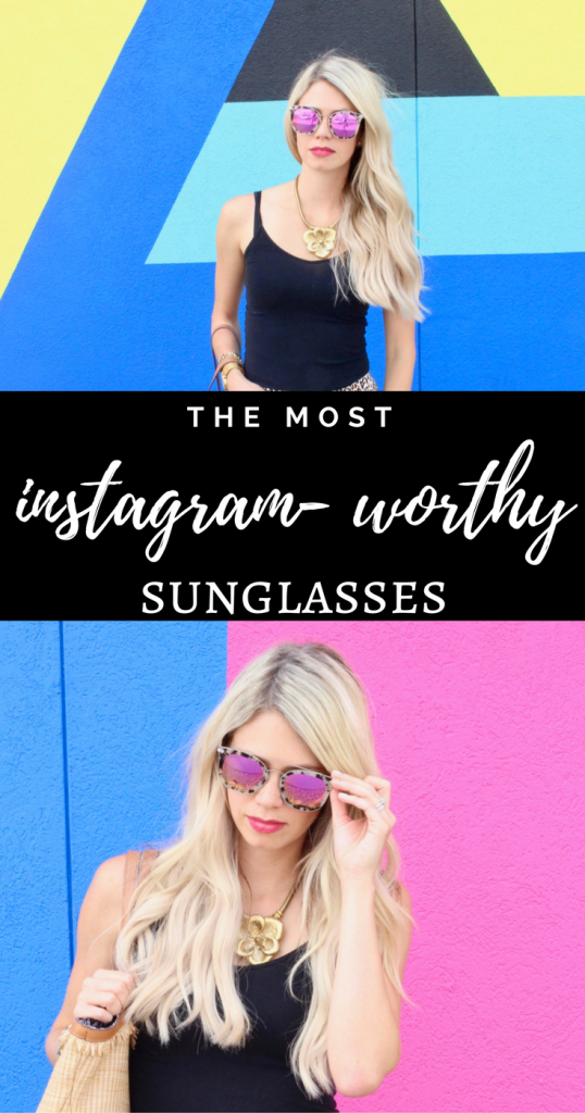 The most instagram-worthy sunglasses with 25% off coupon code!