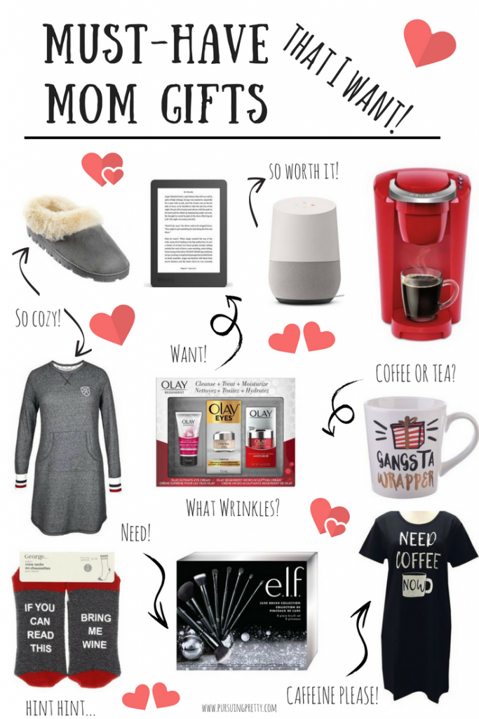 Mom Gift Guide for Christmas - coffee please! Keurig, mug, pjs