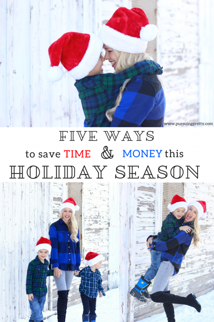 Same and Money During the Holidays this year- Christmas shopping tips - family photography
