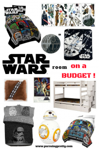 Star Wars Room on a budget - boys shared room - home decor - budget friendly rooms