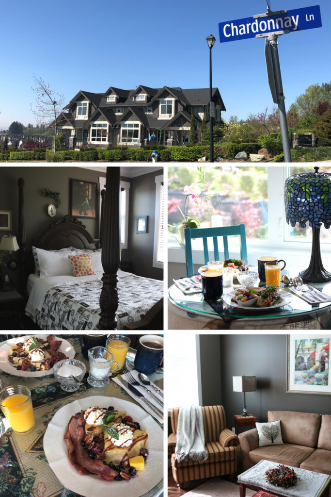 Where to stay in Abbotsford, British Columbia, Canada: The Brookside Inn Boutique Hotel