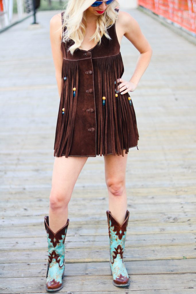 Fashion meets Travel - The Calgary Stampede Rodeo outfit ideas - cowgirl style - Stampede outfit ideas