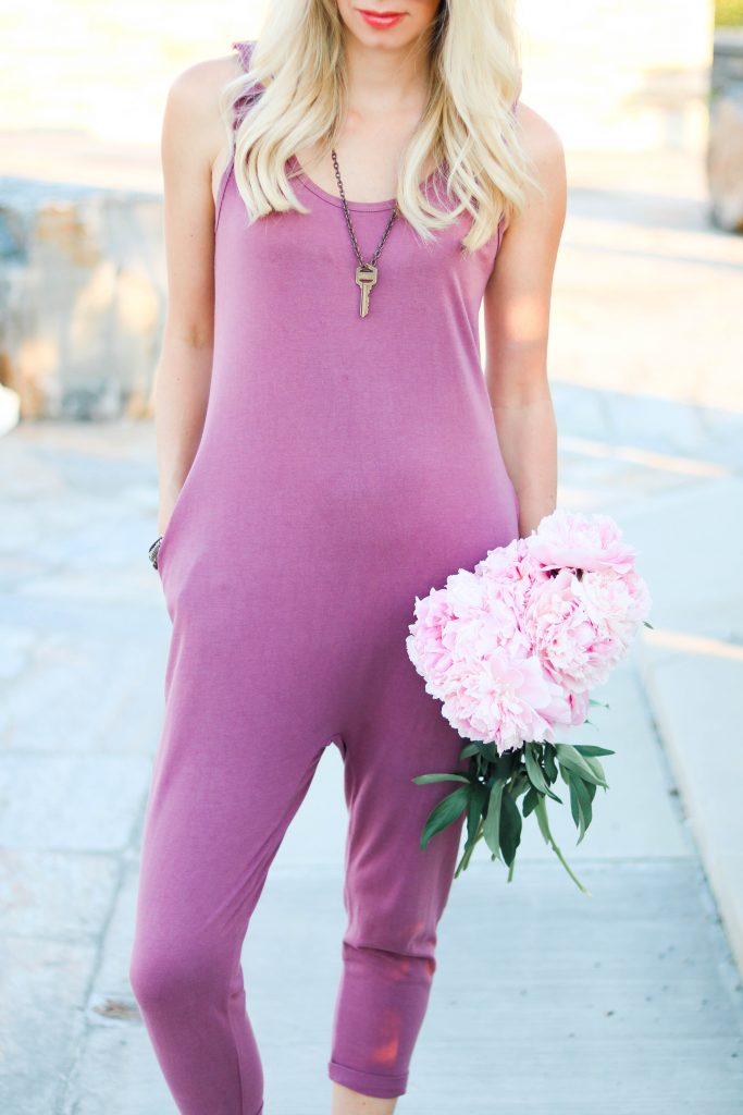 """The """"IT"""" Romper! Smash + Tess Sweetheart Ruffle sleeveless romper. The most comfortable thing you will ever put on!"""